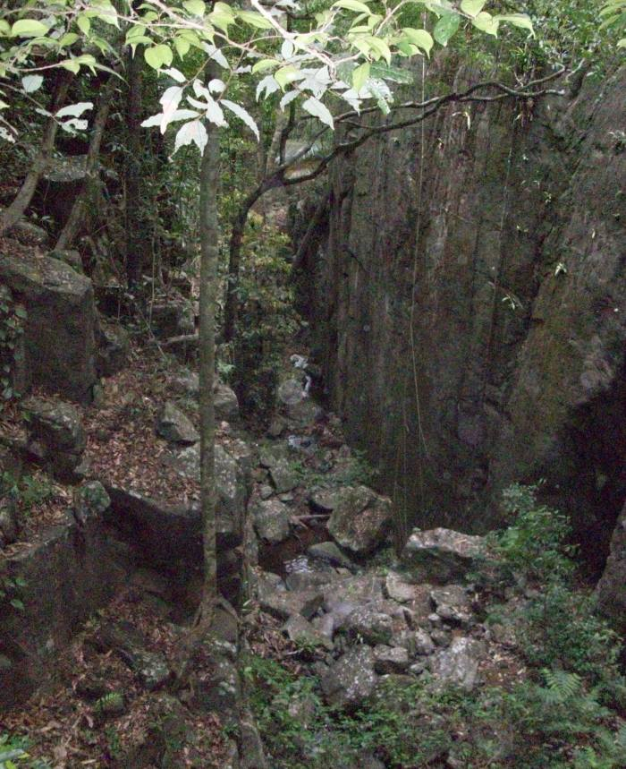 Rocky, slippery and full of leeches (and pit vipers)